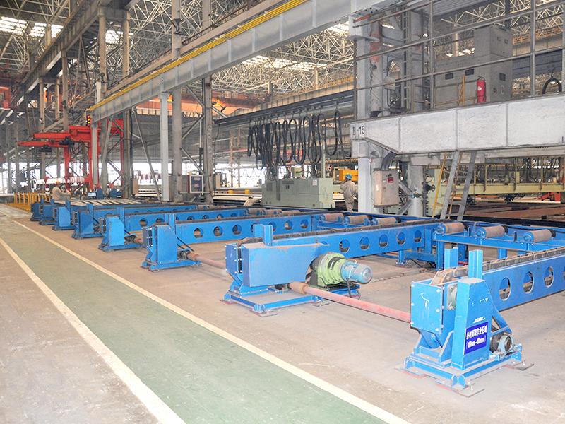 中遠川崎焊割生產線