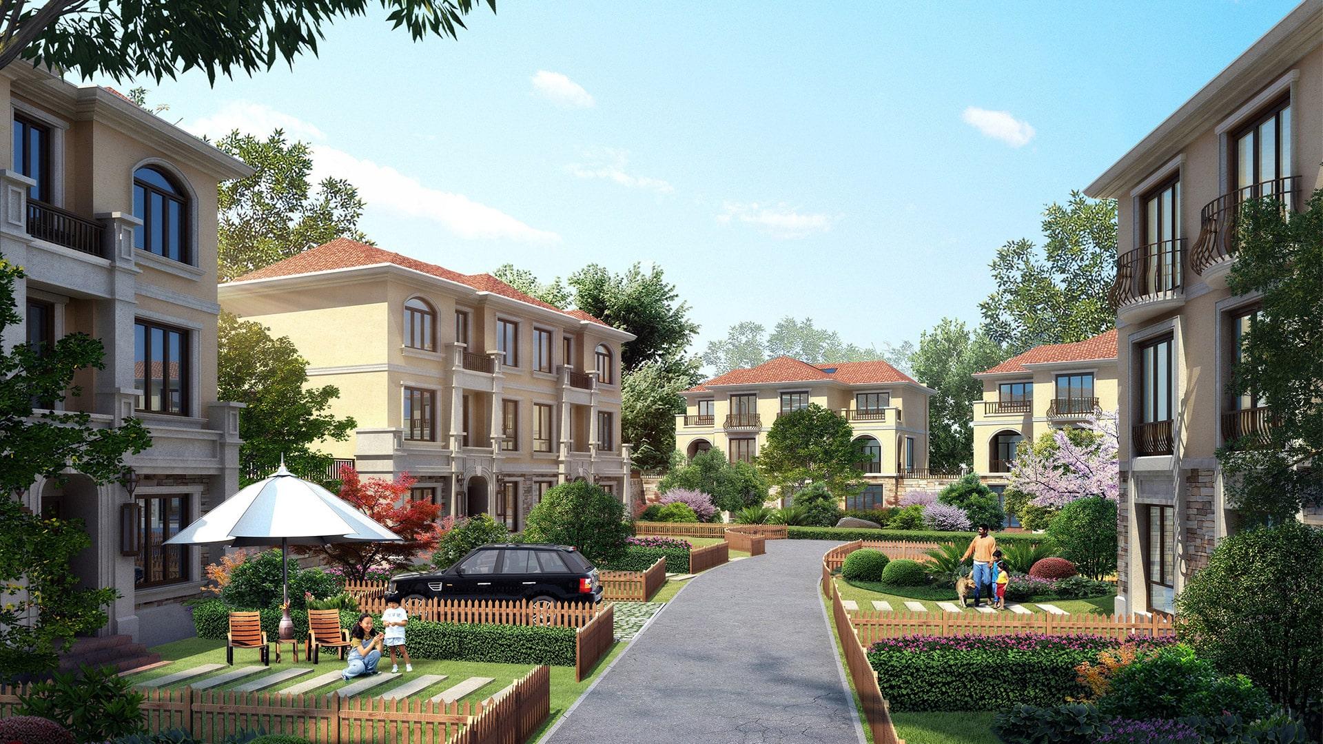 2020--余土合(净)字(2006)35号地块开发项目--杭州依山郡二期84#-142#复式公寓