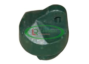 BRACE CAP IN GREEN P.V.C