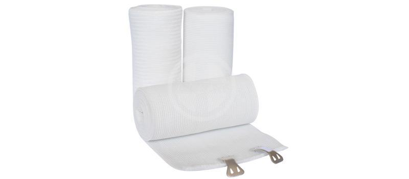 Bleached high elastic bandage