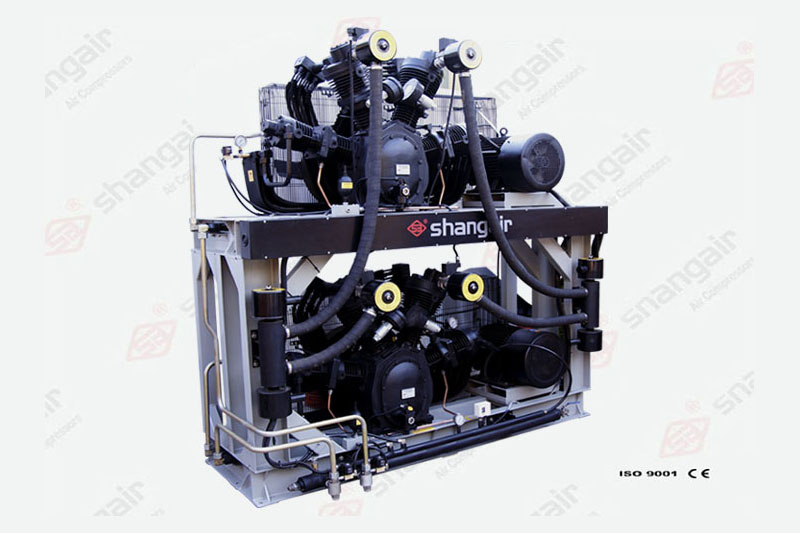 83SW Series Oil Free Middle Pressure Air Compressors (Double-Deck Set)