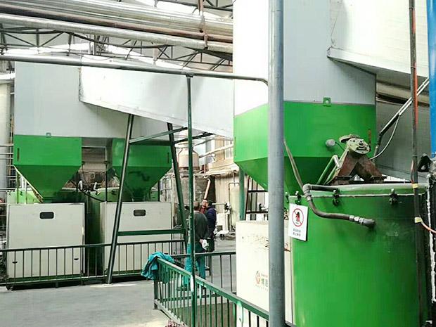兩臺360萬-顆粒燃燒機-配套10噸鍋爐用于家具廠-全友