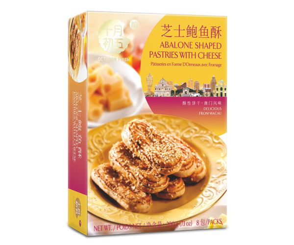 200gX24Abalone Shaped Pastries With Cheese