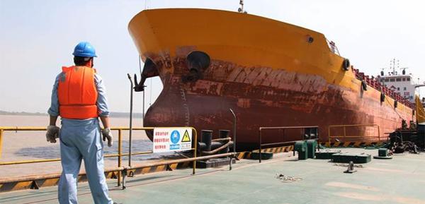 現代商船完成了首次區塊鏈技術航行