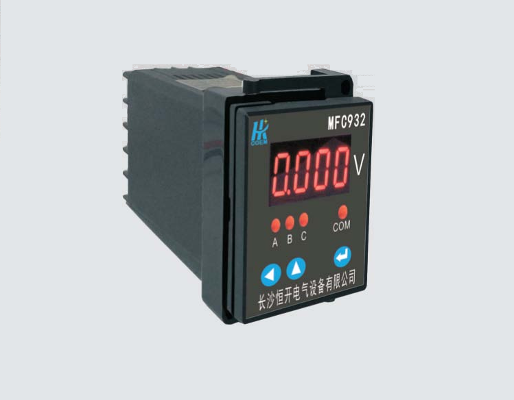 MFC912系列单相可编程数字仪表型号列表