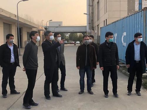镇江新区领导至科阳半导体调研慰问
