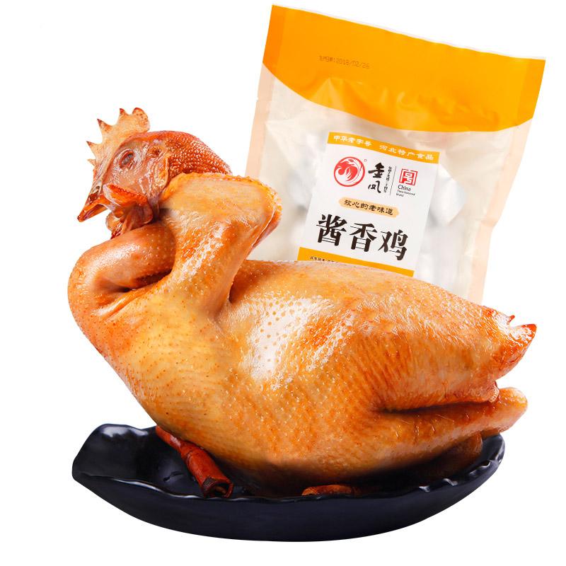 金鳳醬香雞600g