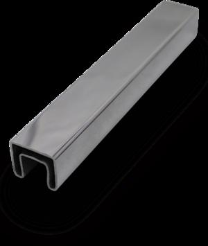 slot suqare handrail tube