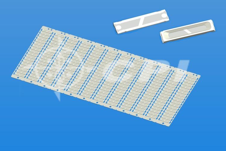 LED8520(18排)長方杯杯深0.4總高0.65杯口有斷差白膠   (18X12)    (L07331A)