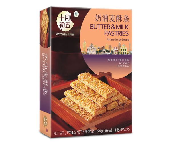 156gX24boxes Butter & Milk Pastries