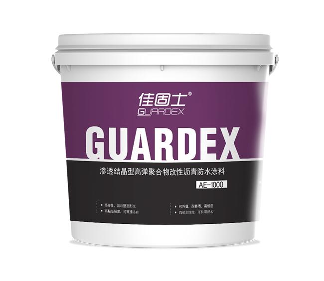 AE-1000 滲透結晶型高彈聚合物改性瀝青防水涂料