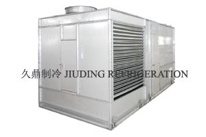 Integrated evaporation water chilling unit