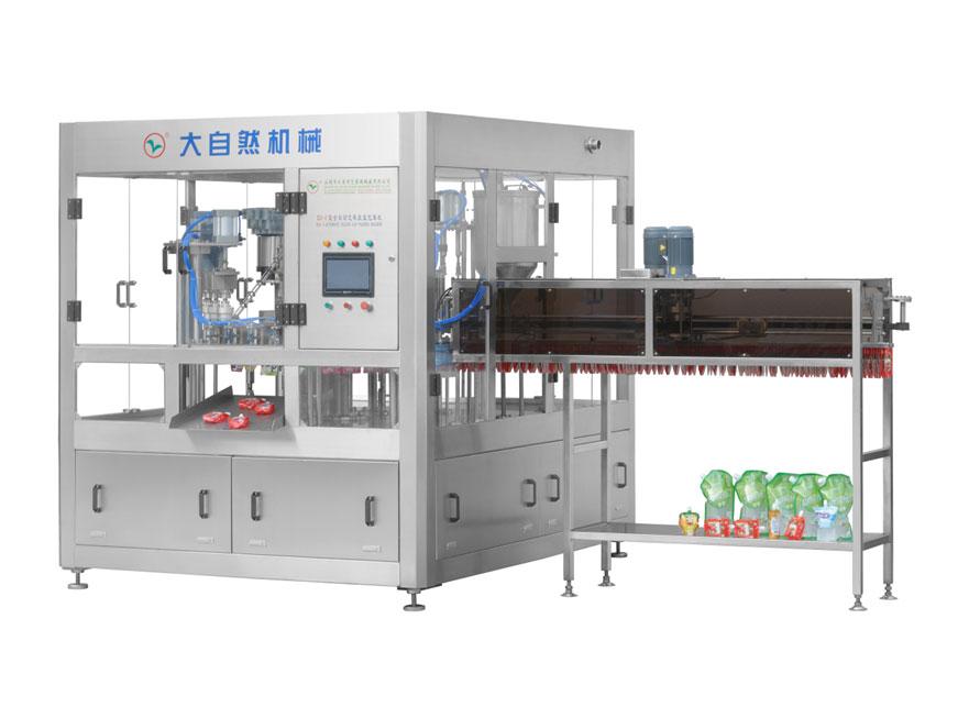 ZLD-5全自动自立袋充填旋盖包装机