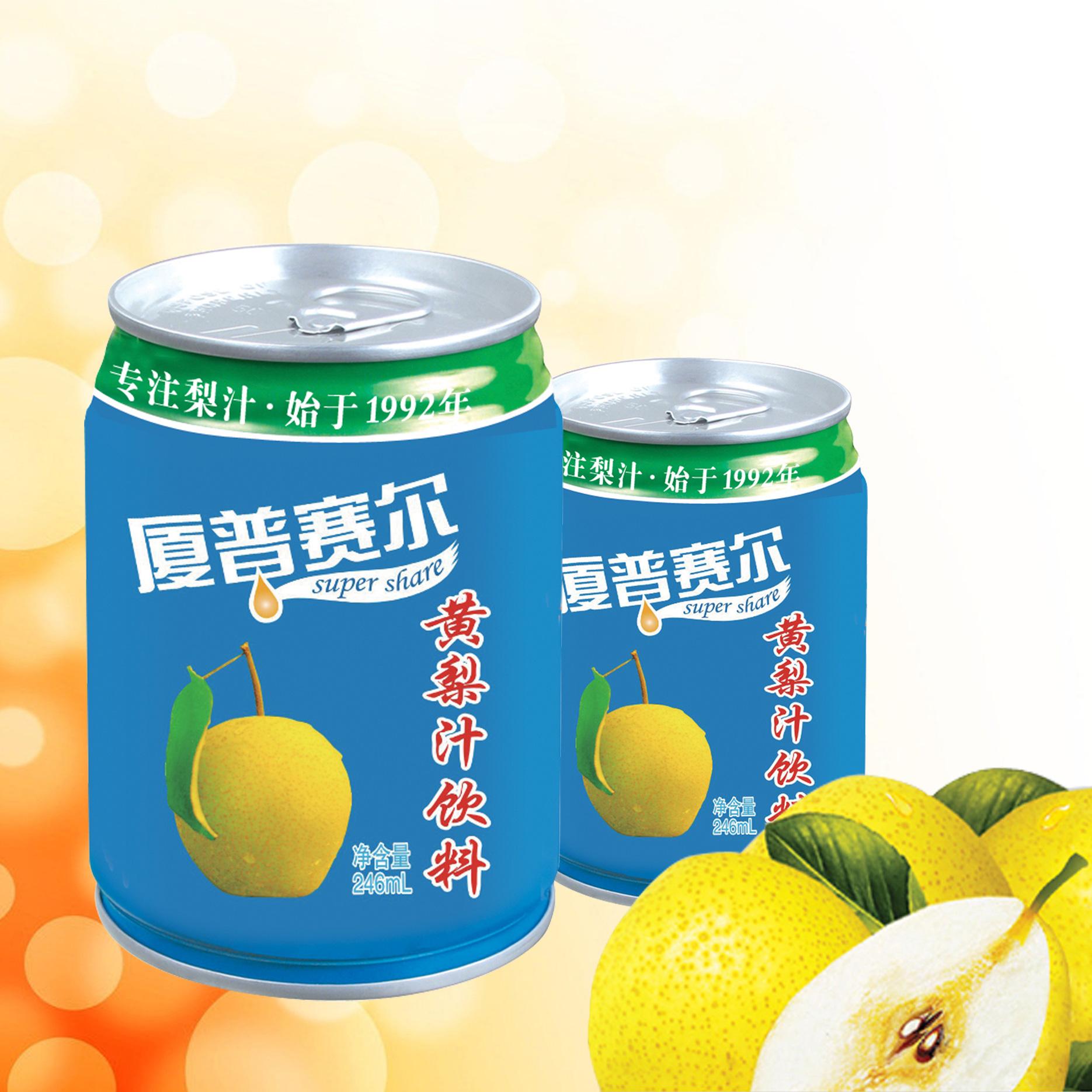 206易拉罐黃梨汁飲料