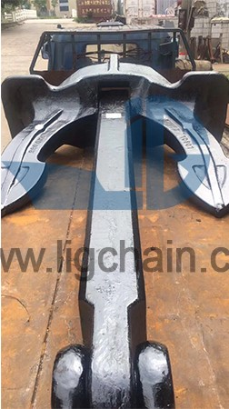 Installation and maintenance of anchors and anchor chains
