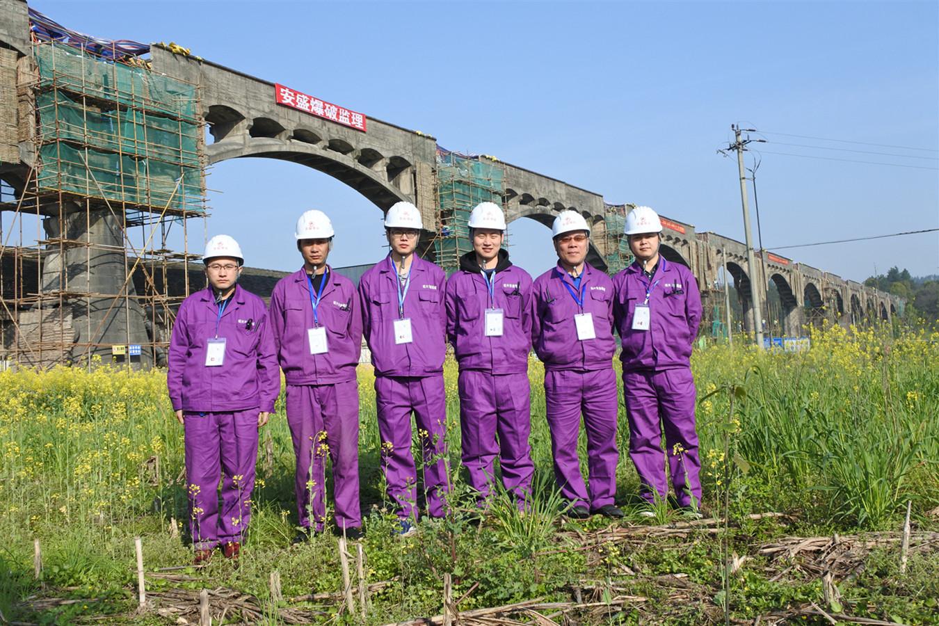 衢州龙游龙门桥渡槽爆破拆除工程