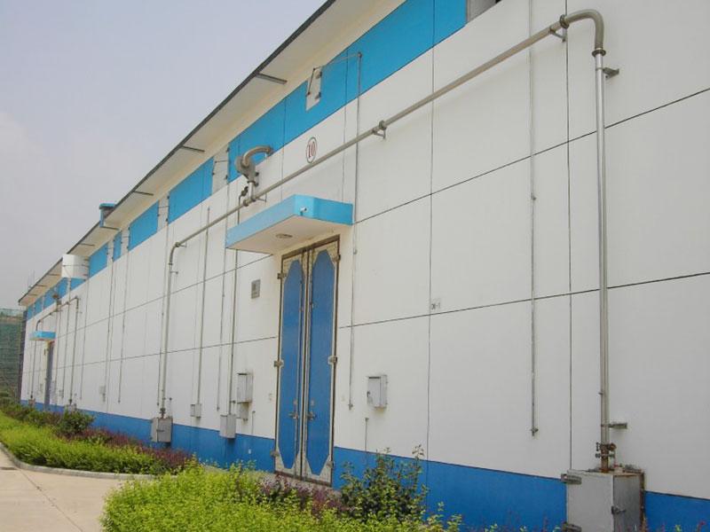 粮食储备库密闭门窗工程及环流薰蒸系统