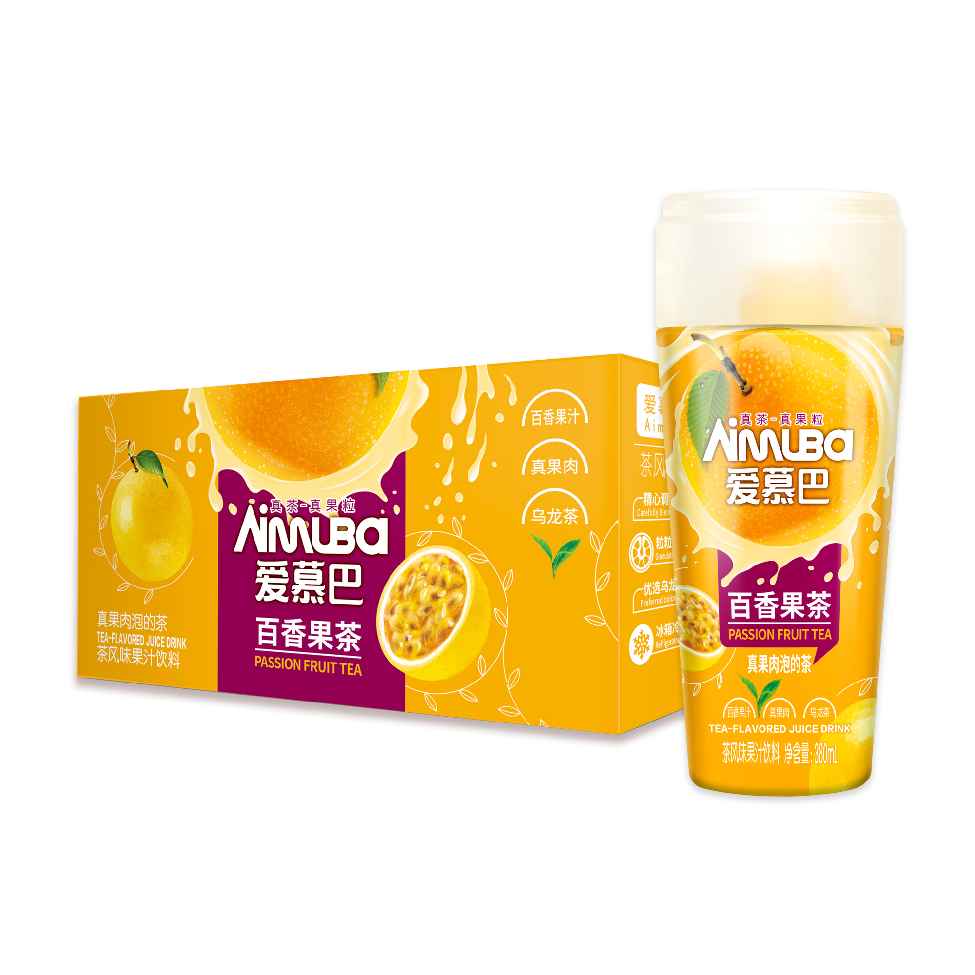 愛慕巴-百香果茶