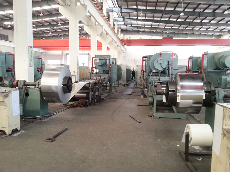 Bright annealing line for horizontal looper