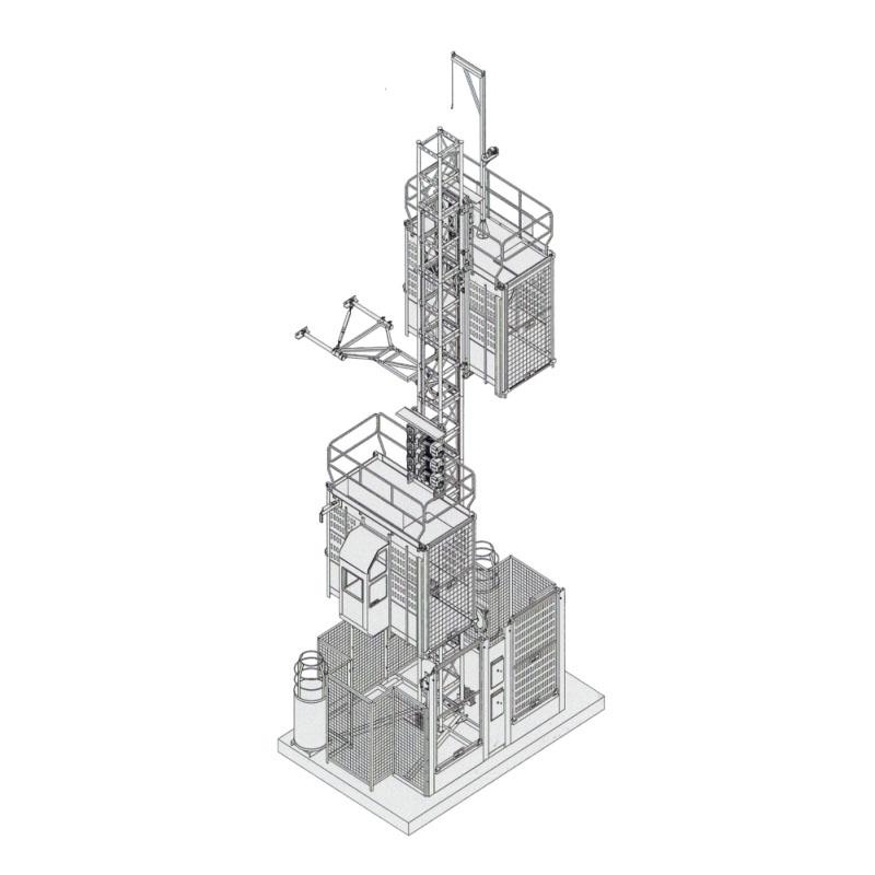 SC200/200 人货两用施工升降机