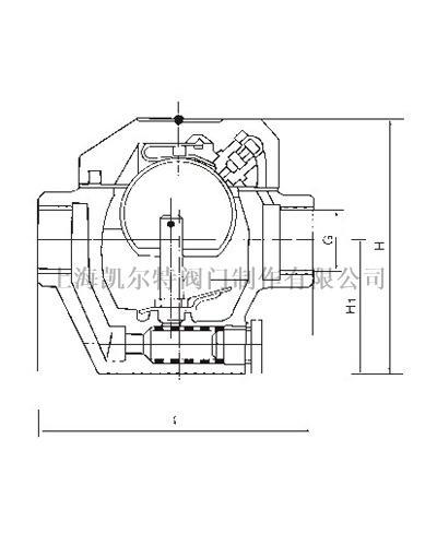 半自由浮球式蒸汽疏水阀