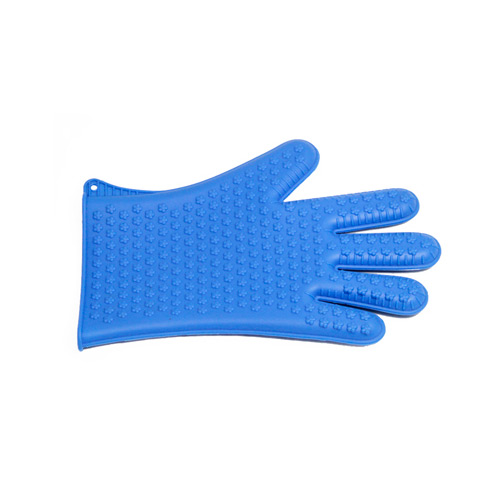Silicone heat insulate gloves