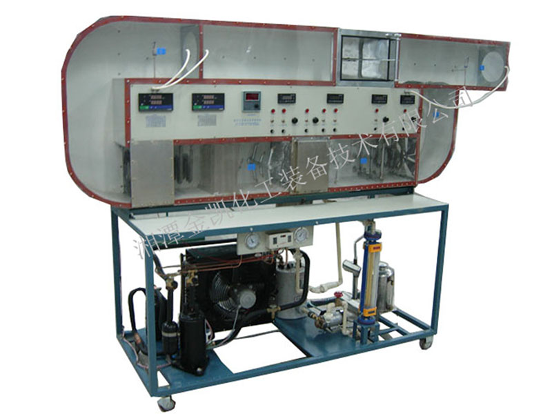 循環式空調過程實驗裝置