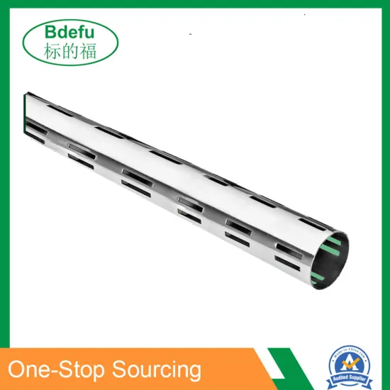 Chrome Plating Slotted Channel Upright Column