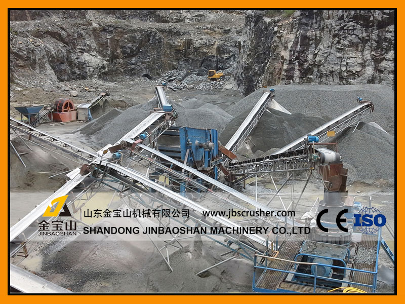 JBS 180tph Limestone crushing plant in Philippines