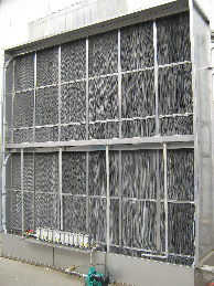湿膜填料式蒸发冷却降温设备