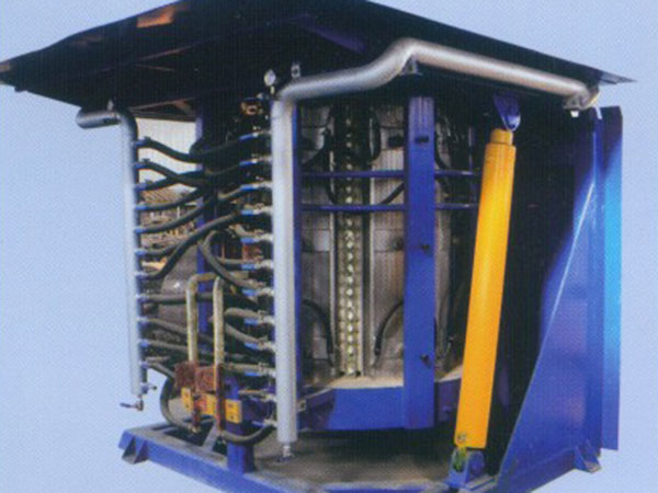 Hydraulically driven 20T steel shell furnace