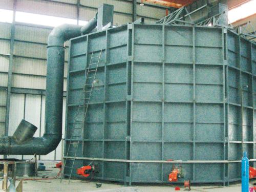 大型水輪發電機退火爐(可拆卸式)