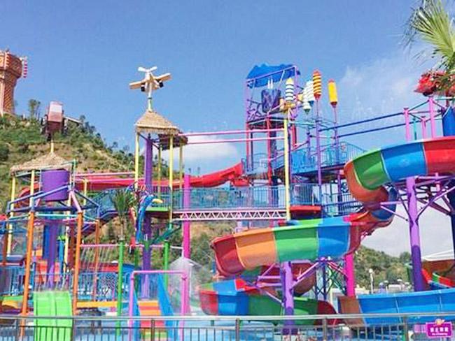 梅州-金盤水上樂園