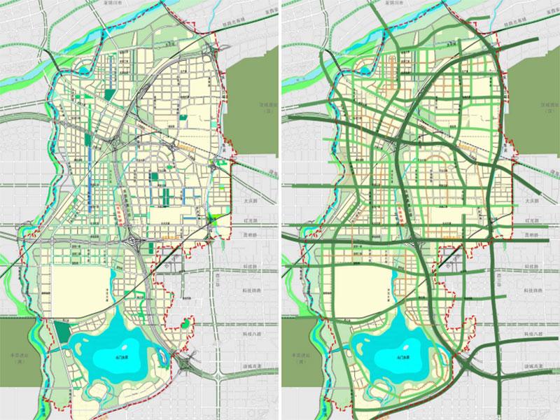 灃東新城綠色生態體系規劃