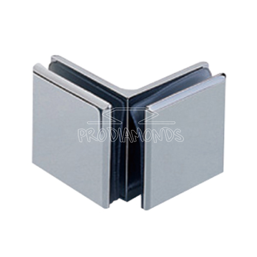 90 Degree Glass to Glass clip