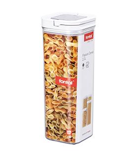 提扣正方形密封罐 2.3L