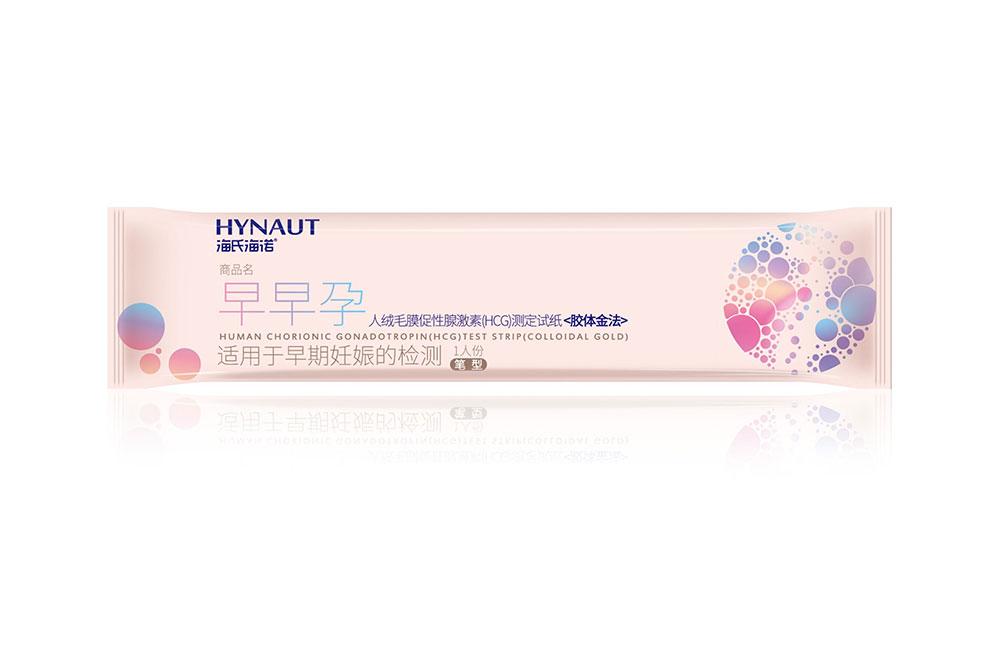 人絨毛膜促性腺激素(HCG)測定試紙(膠體金法)筆型1人份小袋