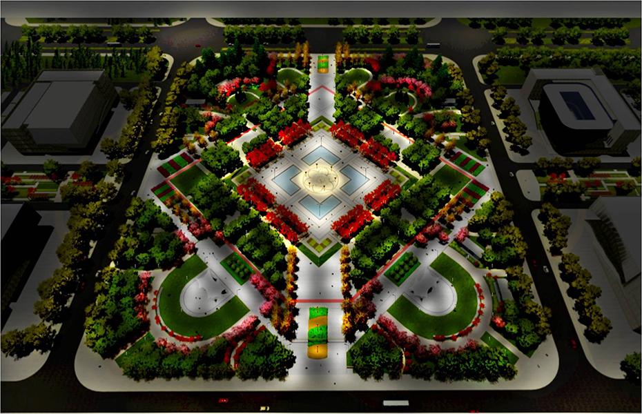 邓州市市民广场