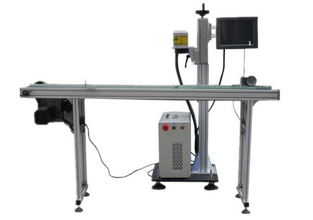 Flying (pipeline) laser marking machine