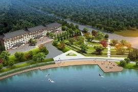 太陽湖公園景觀設計