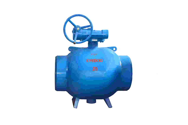 Q361F-16C/25 Q367F-16C/25 Full-diameter welded steel ball valve