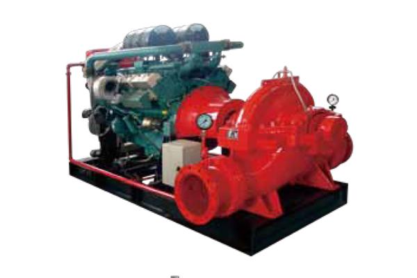XBC-S 單級雙吸中開泵 (柴油機)