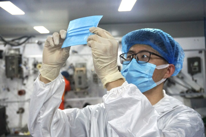 Megasoft (China) Co., Ltd Invested 100,000-level Dust-free Workshop to Produce Daily Masks