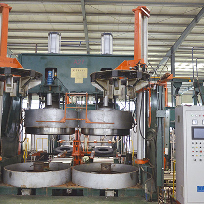 Mechanical Horizontal Moving Tire Vulcanizing Machine--Double Mould