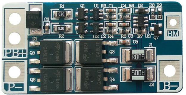 电动玩具锂电保护板