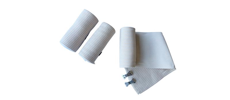 Striped high elastic bandage