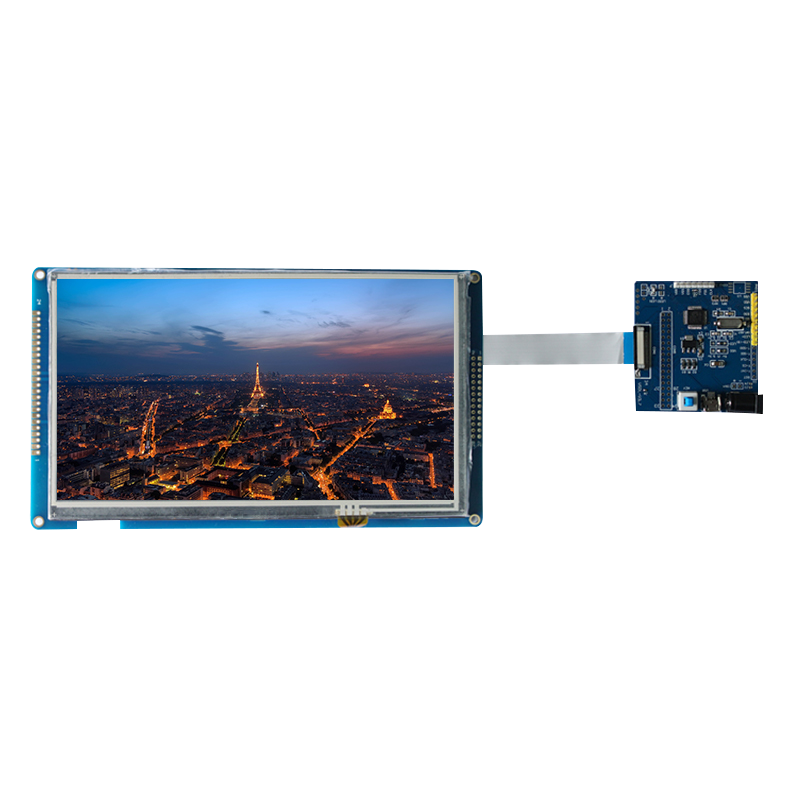 "7"" 800x480 MCU Interface TFT LCD Module with Driver Board for Medical Imaging Equipment"