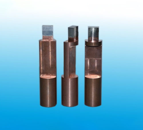 Refractory metal-faced electrodes