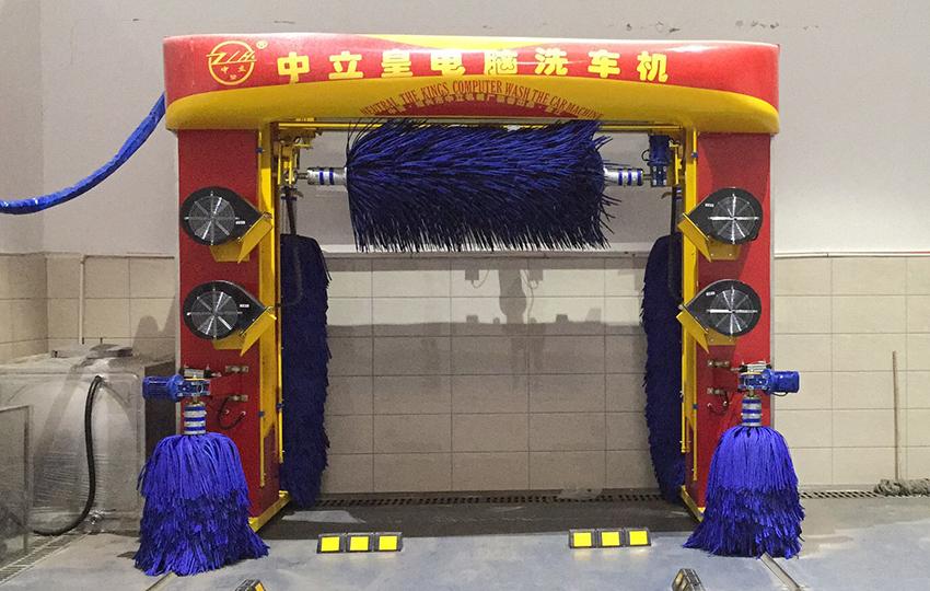 龍門往復式洗車機(帶固定吹風)