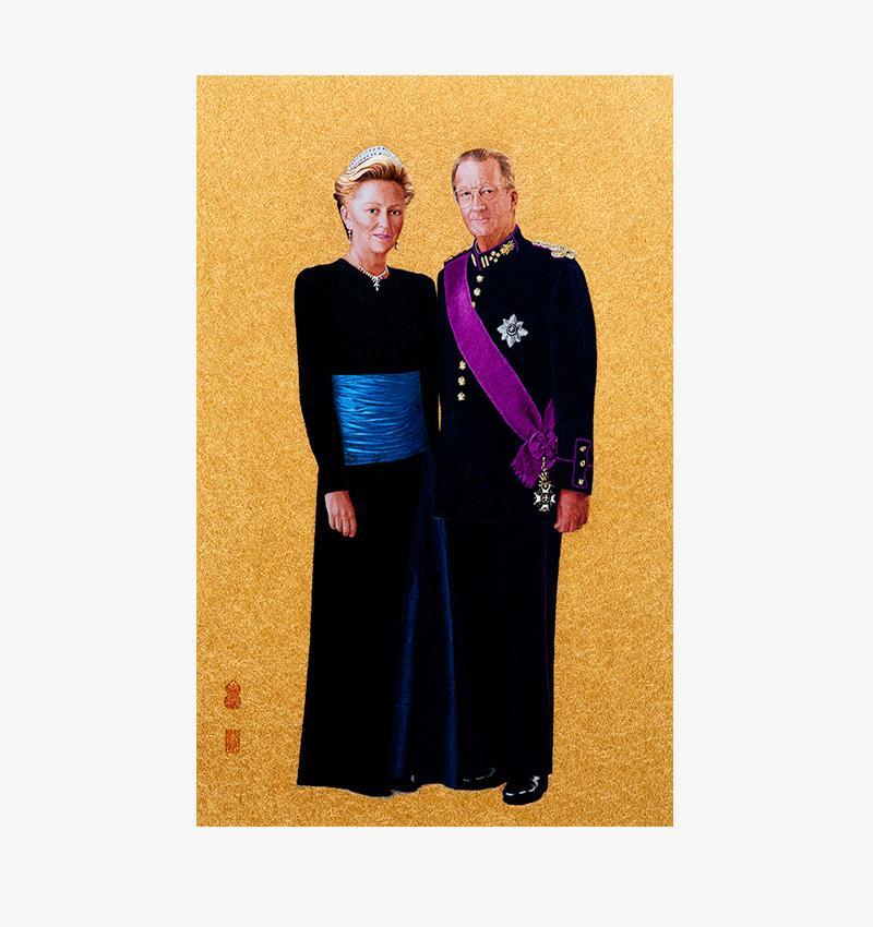 比利時國王夫婦肖像